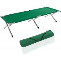 Tresko összecsukható kemping nyugágy XL FB-005 - Zöld