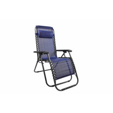 Kerti szék Linder Exclusiv AERO GRT MC3746 - kék/fekete Előnézet