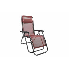 Kerti szék Linder Exclusiv AERO GRT MC3749 - piros/fekete Előnézet