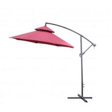 AGA EXCLUSIV CUBE 250 cm függő napernyő - piros Előnézet