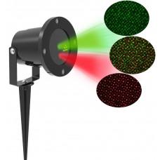 Aga Lézer LED projektor Zöld/Piros Előnézet