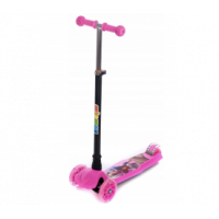 Aga4Kids háromkerekű roller - rózsaszín