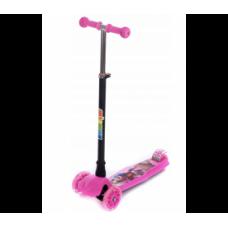 Aga4Kids háromkerekű roller - rózsaszín Előnézet