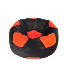AGA Babzsákfotel - Fekete/Narancssárga