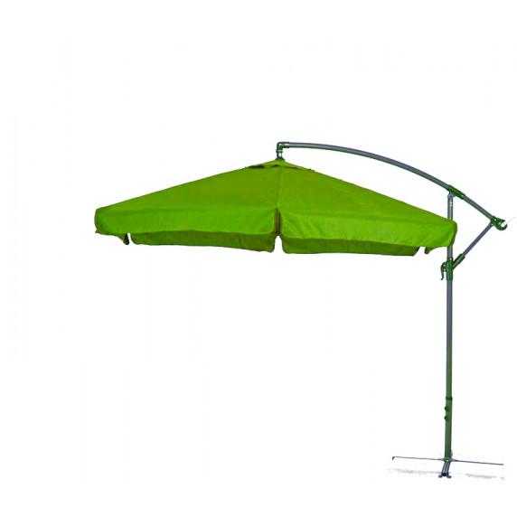AGA EXCLUSIV Garden 300 cm függő napernyő - Világos zöld