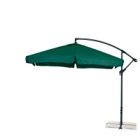 AGA EXCLUSIV Garden 300 cm függő napernyő - Sötét zöld