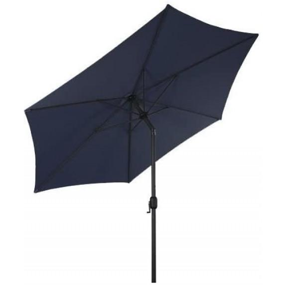 Linder Exclusiv KNICK 250 cm dönthető napernyő - Kék