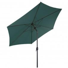 Napernyő dönthető Linder Exclusiv KNICK 250 cm - Sötét zöld Előnézet