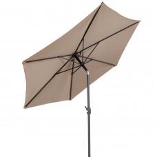Napernyő dönthető Linder Exclusiv KNICK 250 cm - Taupe szürkésbarna Előnézet