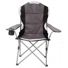 Kemping szék KYNAST Jumbo 613-400266 - Szürke Előnézet