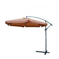 AGA EXCLUSIV Garden 300 cm függő napernyő - Kávé barna Előnézet