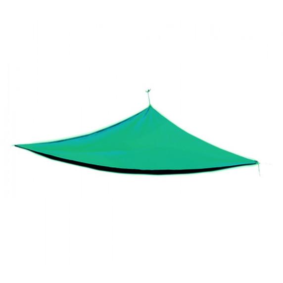 AGA Háromszög alakú árnyékoló, napvitorla 5 x 5 x 5 m - Petrol
