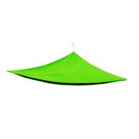 AGA Háromszög alakú árnyékoló, napvitorla 5 x 5 x 5 m - Világos Zöld
