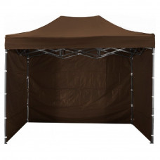 AGA kerti sátor 3O POP UP 3x4,5 m - Barna Előnézet