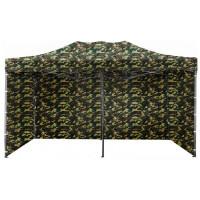 AGA kerti sátor 3O POP UP 3x6 m - Terepmintás Army