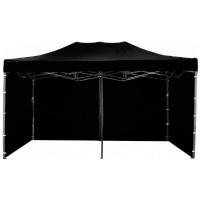 AGA kerti sátor 3O POP UP 3x6 m - Fekete