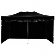 AGA kerti sátor 3O POP UP 3x6 m - Fekete Előnézet