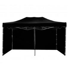 AGA kerti sátor 3O PARTY 3x6 m - Fekete Előnézet