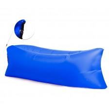AGA felfújhatós Relax zsák LAZY BAG - kék Előnézet
