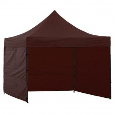 AGA kerti sátor 3O POP UP 3x3 m - Barna Előnézet