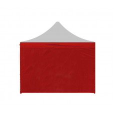 AGA Oldalfal kerti sátorhoz POP UP 3x3 m - Piros Előnézet