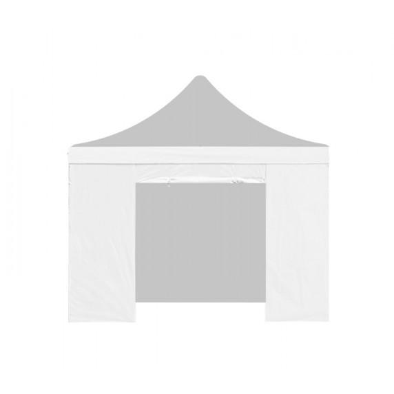 Aga oldalfal ajtóval PARTY 3x3 m - Fehér