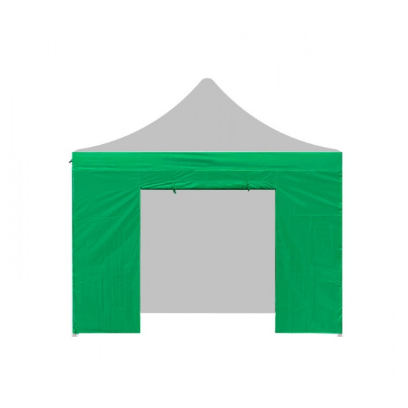 Aga oldalfal ajtóval POP UP 4,5 m - Zöld