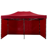 AGA kerti sátor 3O PARTY 3x6 m - Sötét piros