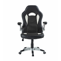 Irodai szék AGA Racing MR2050W - Fekete/fehér