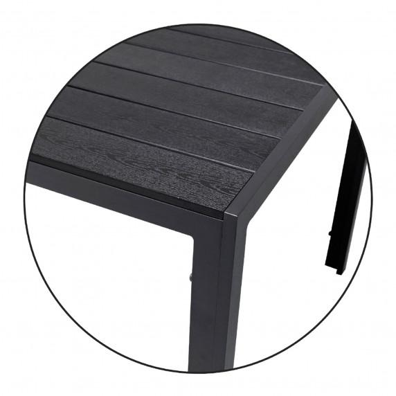 Kerti asztal Linder Exclusiv Riva 80x80x74 cm
