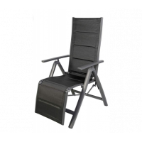 Alumínium kerti szék Linder Exclusiv Venezia - Fekete
