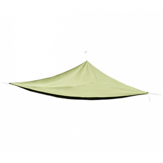 Háromszög alakú árnyékoló, napvitorla Linder Exclusiv  MC2017B 3 x 3 x 3 m - Bézs
