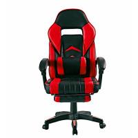 Irodai szék lábtámasszal Aga MR2040Red - Fekete/piros