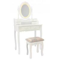 Fésülködő asztal székkel LED világítással PHO3992LED