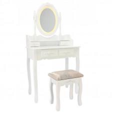 Fésülködő asztal székkel LED világítással PHO3992LED Előnézet