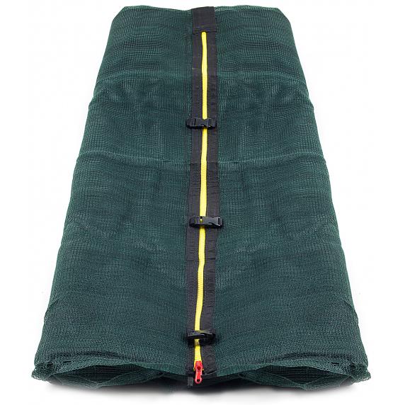 Belső védőháló 366 cm átmérőjű trambulinhoz 8 rudas AGA - Sötét zöld