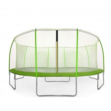 Aga SPORT FIT 430 cm trambulin belső védőhálóval - Világos zöld Előnézet