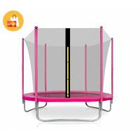 Aga SPORT FIT 305 cm trambulin belső védőhálóval - rózsaszín