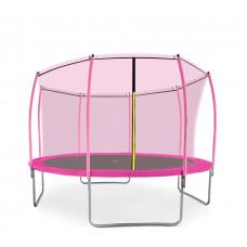 Aga SPORT FIT 366 cm trambulin belső védőhálóval - Rózsaszín Előnézet