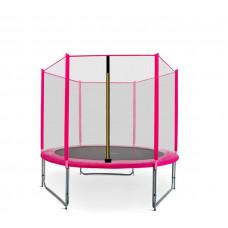 AGA SPORT PRO 150 cm trambulin - Rózsaszín