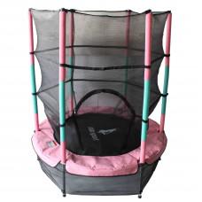 Aga gyerek trambulin védőhálóval 140 cm - Rózsaszín Előnézet