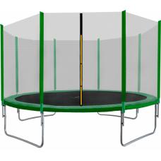 AGA SPORT TOP 400 cm trambulin - Sötét zöld  Előnézet