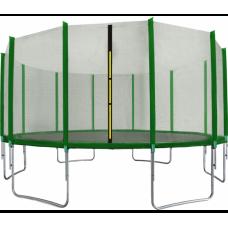 Trambulin 518 cm külső védőhálóval AGA SPORT TOP - sötét zöld  Előnézet