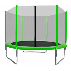 AGA SPORT TOP 250 cm trambulin - Világos zöld Előnézet