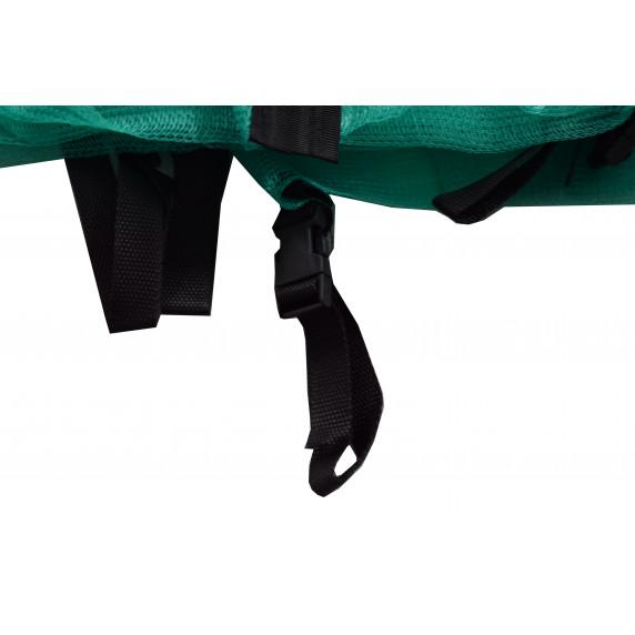Belső védőháló 180 cm átmérőjű trambulinhoz 6 rudas  AGA - óceán zöld
