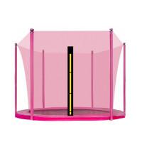 AGA belső védőháló 250 cm átmérőjű trambulinhoz 6 rudas - Rózsaszín