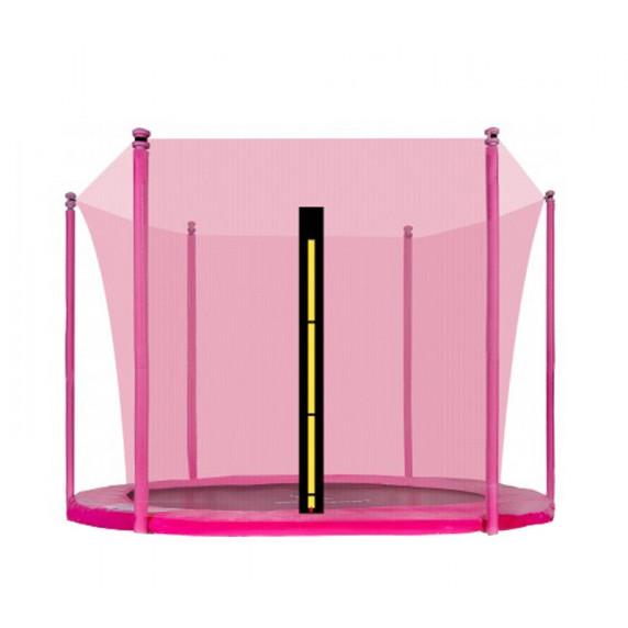 AGA belső védőháló 305 cm átmérőjű trambulinhoz 6 rudas - Rózsaszín