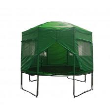 AGA trambulin sátor 366 (12 ft) - Sötét zöld Előnézet