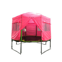 AGA trambulin sátor 366 (12 ft) - Rózsaszín