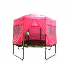 AGA trambulin sátor 305 cm (10 ft) - Rózsaszín Előnézet